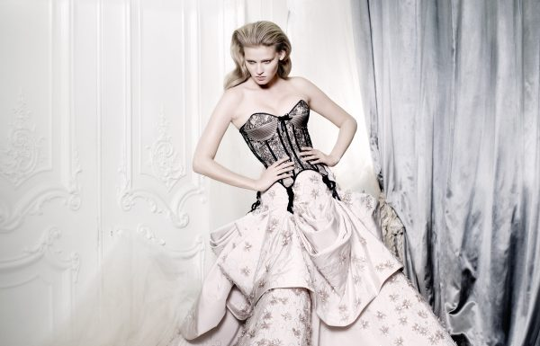 8. Lara Stone, British Vogue, 2009