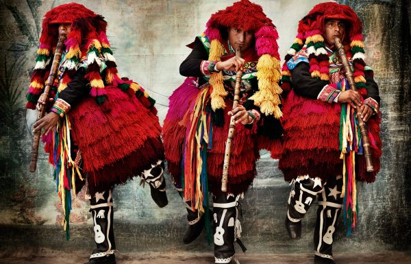 Men's costume for the Tupay dance, province of Espinar, Cusco, Peru, 2007